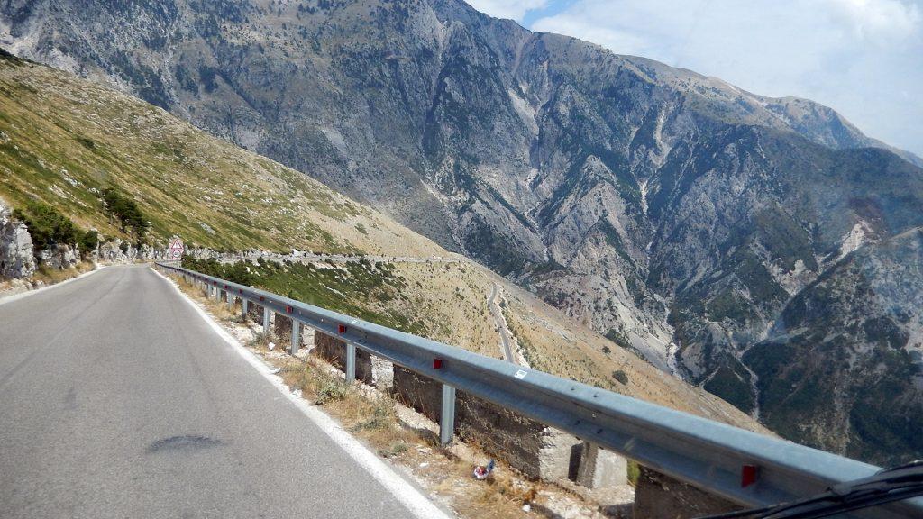 Bulli Roadtrip Llogara Pass Albanien