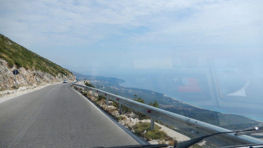 Weitblick vom Llogara-Pass