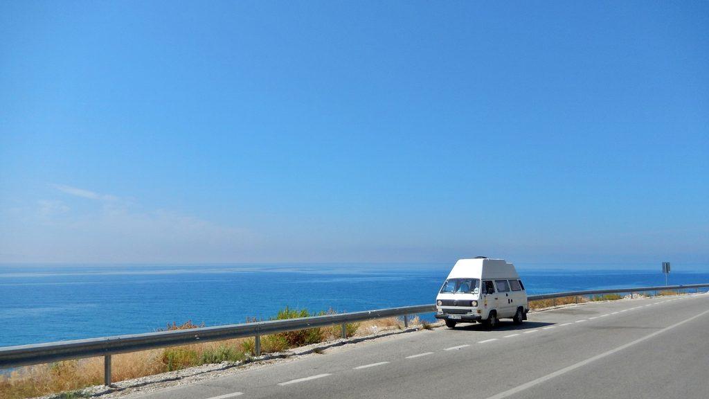 VW T3 Bulli Albanien Riviera Roadtrip Freiheit