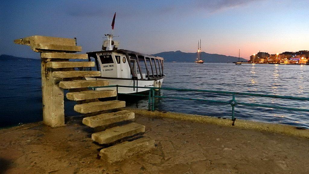 Die Treppe ons Nichts, Sarande, Albanien