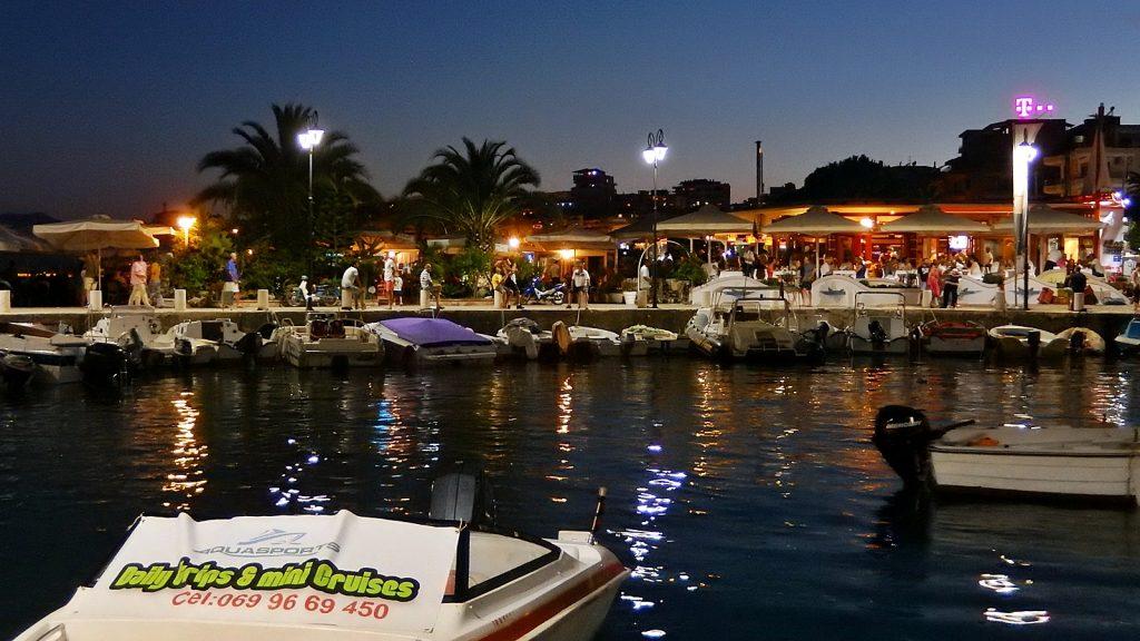 Yachthafen von Saranda, Albanien