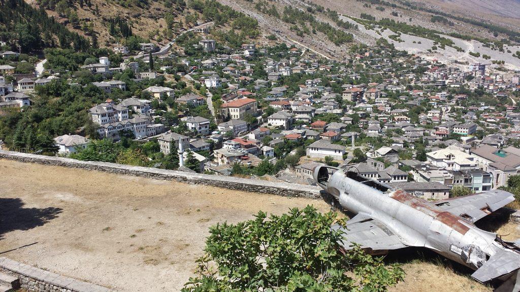 Flugzeugwrack Gjirokastra Albanien