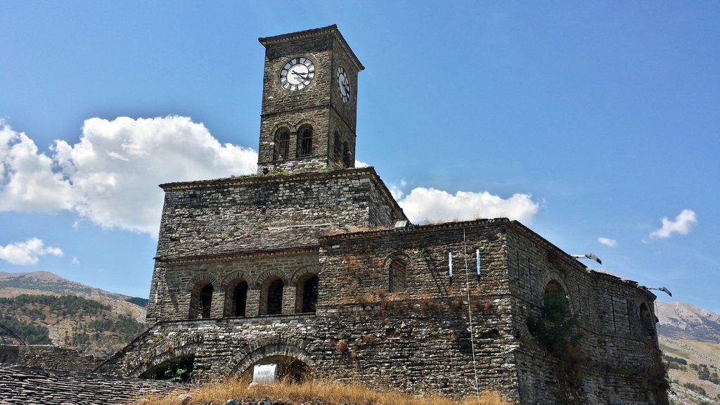 Uhrturm Festung Gjirokaster
