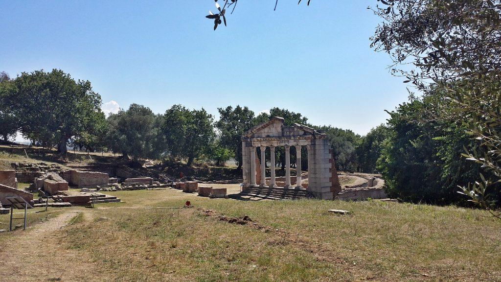Monument der Agonotheten, Apollonia, UNESCO Weltkulturerbe, Albanien