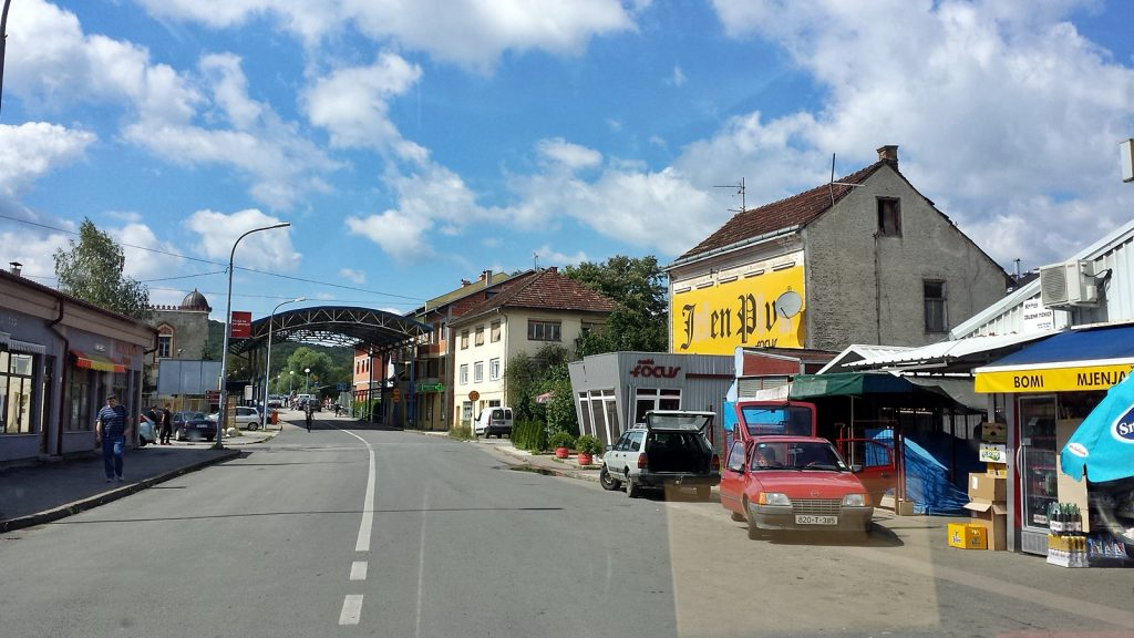 Novi Grad Grenze Bosnien Herzegowina Kroatien