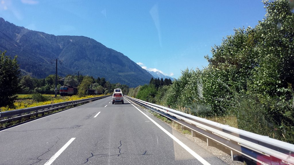 Slowenischer Bulli VW T3 Bus