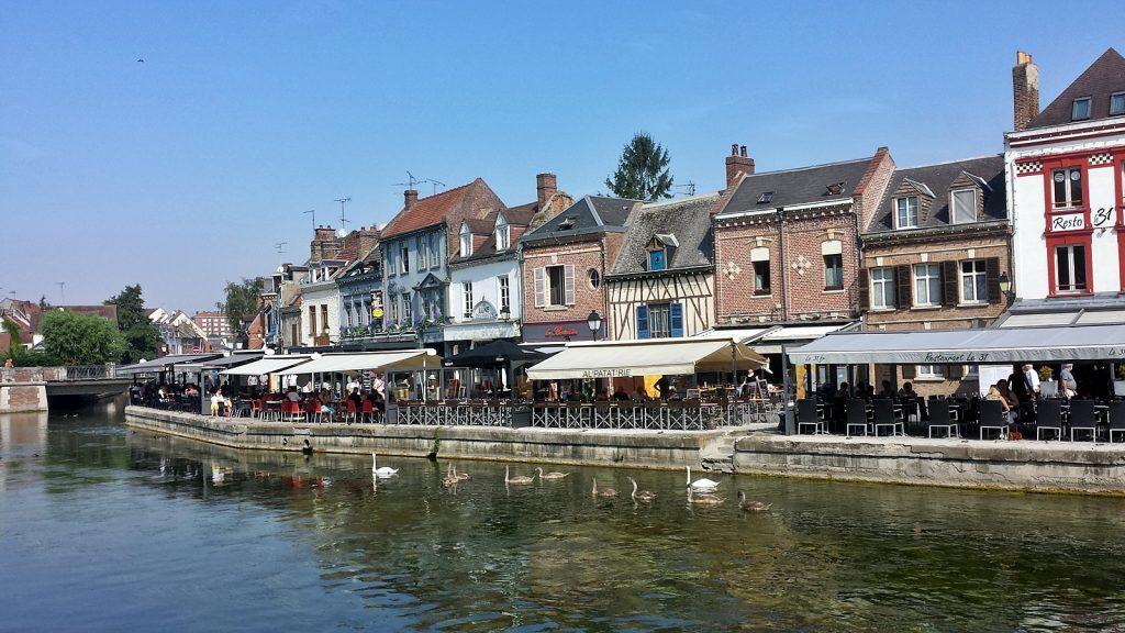 """""""Klein Holland"""" am Rande der Altstadt in Amiens, Frankreich"""