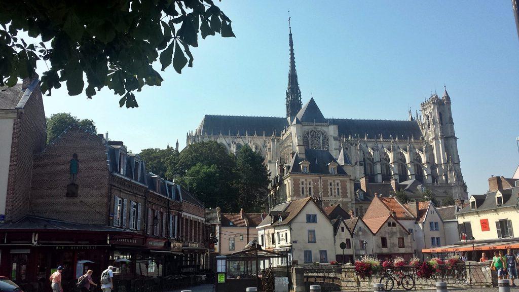 Die Kathedrale von Amiens, Frankreich
