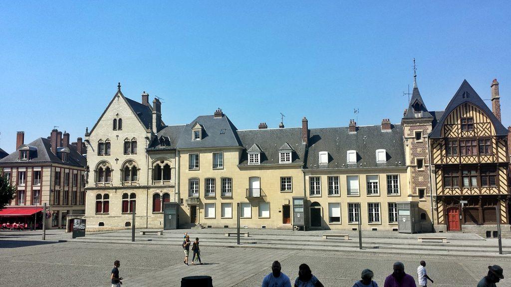 Platz vor der Kathedrale, Amiens