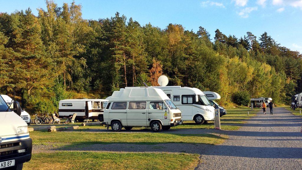 VW Bus Bulli Wohnmobilhafen Twistesee Bad Arolsen