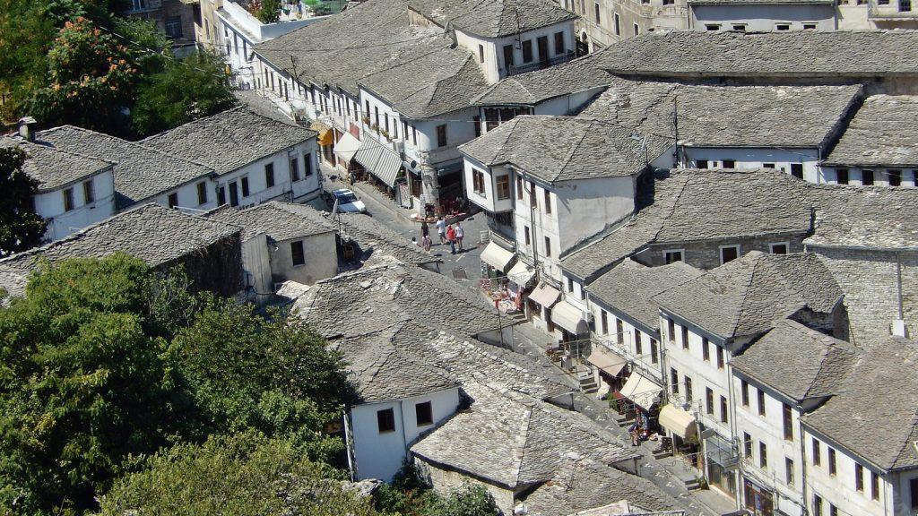 Altstadt von Gjirokastra