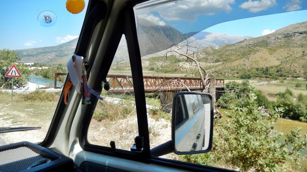 Mit dem Bulli durch Albanien nach Berat