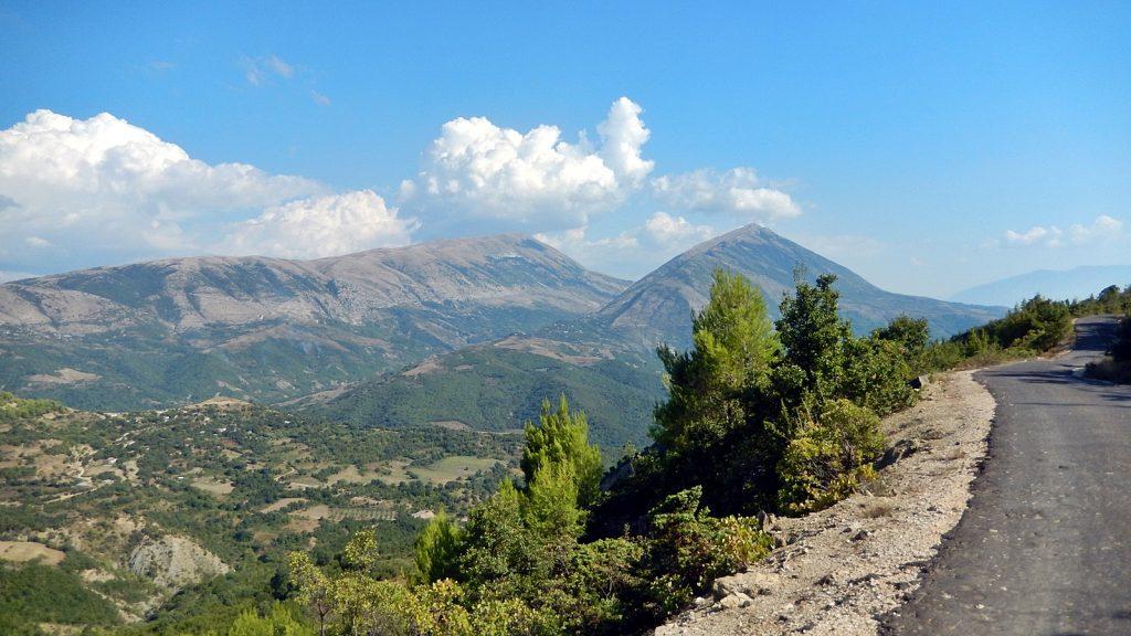 Kannabis-Plantage, Albanien