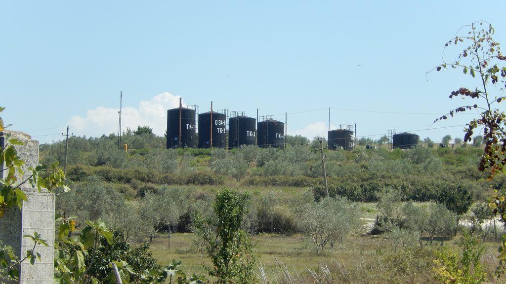 Ölfelder in Albanien