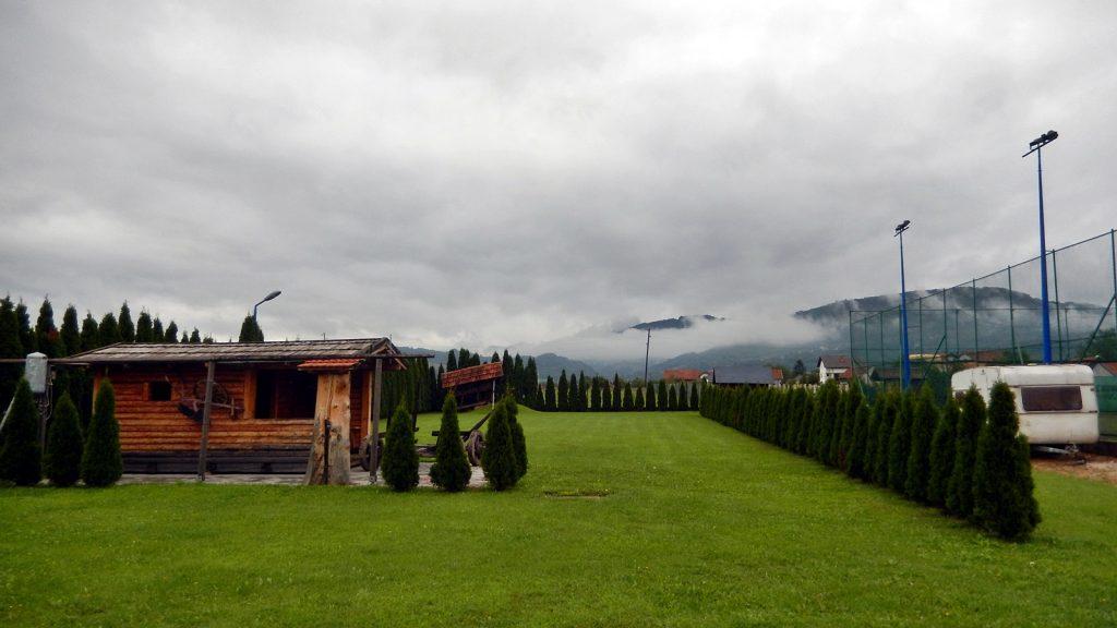 Campingplatz am Motel Carousel in Travnik, Bosnien Herzegowina