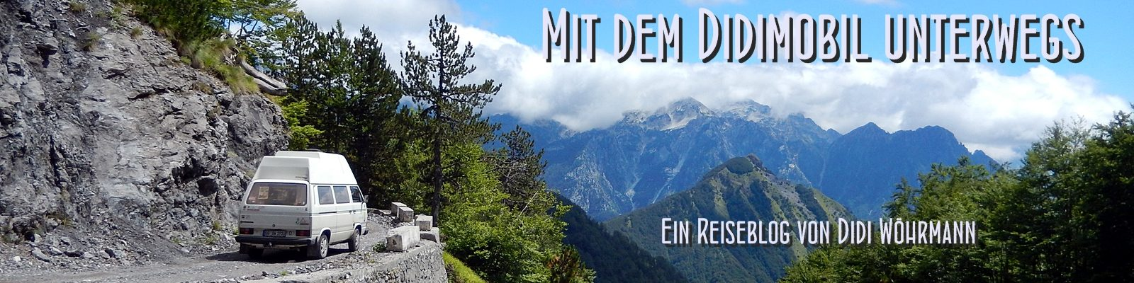Mit dem Didimobil unterwegs - Ein Reiseblog von Didi Wöhrmann