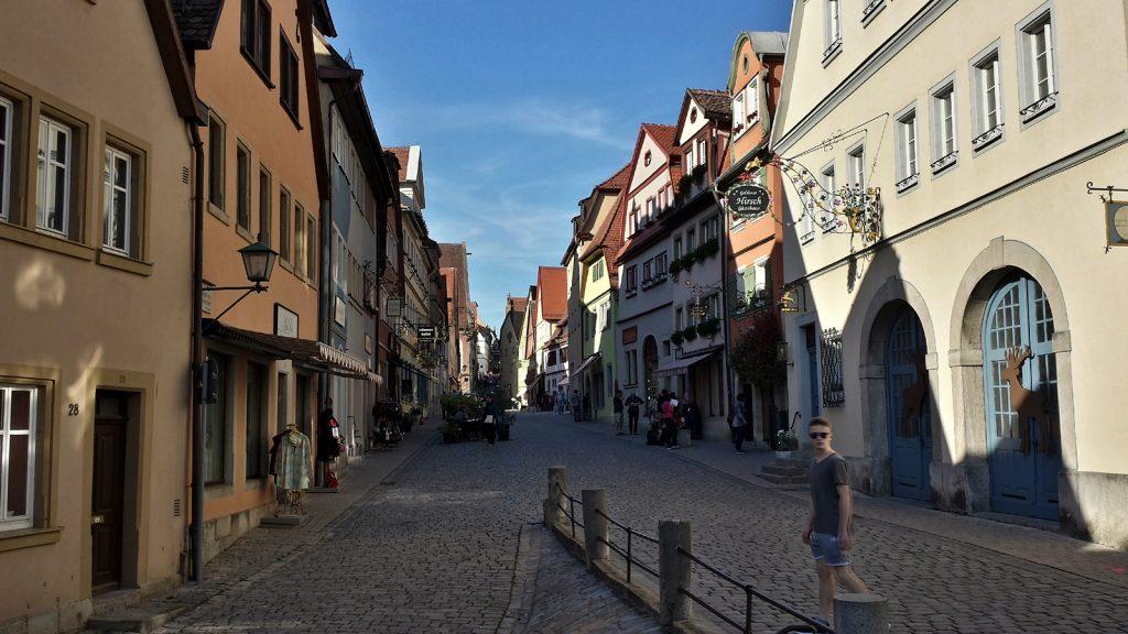 Untere Schmiedegasse, Rothenburg ob der Tauber