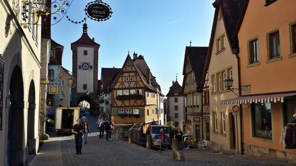 Plönlein, Siebersturm, Rothenburg ob der Tauber