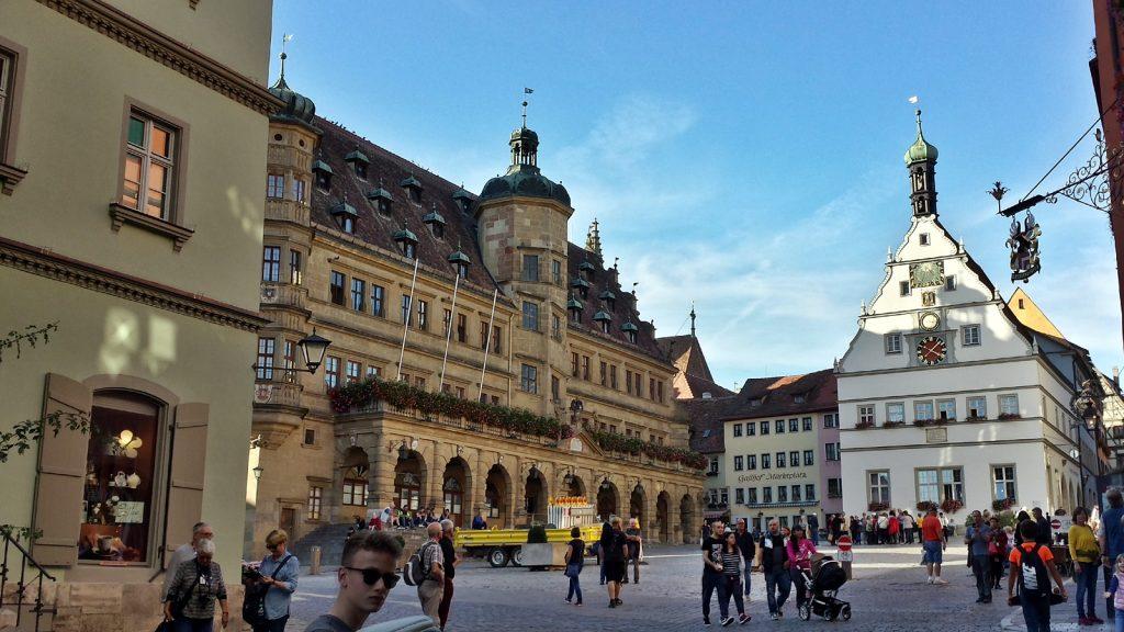 Rathaus, Marktplatz, Rothenburg ob der Tauber
