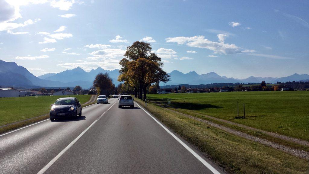 Bundesstraße B17 Allgäu