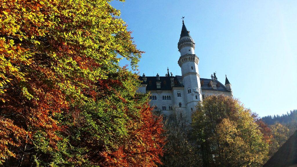 Schloss Neuschwanstein im Herbst 2017
