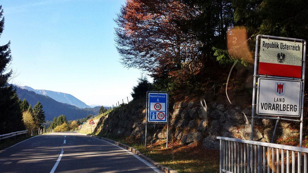 Grenze Republik Österreich, Land Vorarlberg