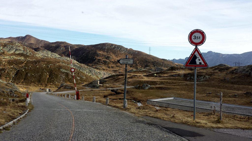 Tremola Gotthard Passstraße