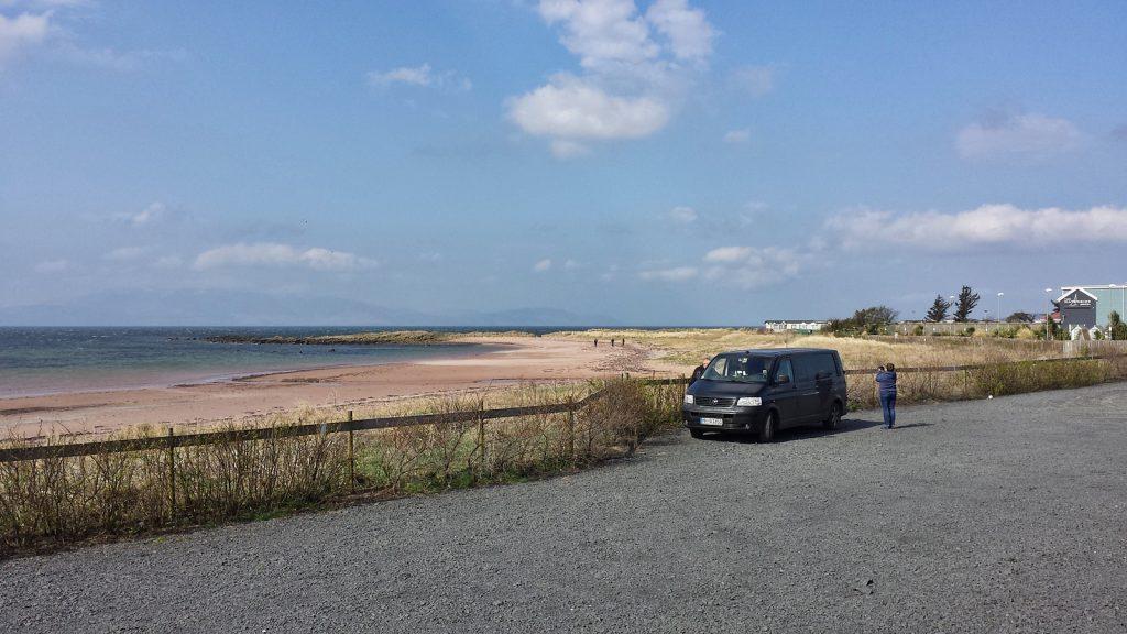 Der erste Kontakt mit dem Firth of Clyde
