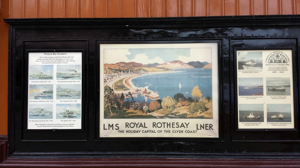 Die Fährlinie Wemyss Bay - Rothesay hat eine lange Tradition