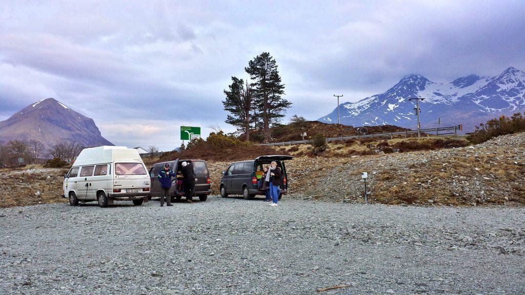 Campingplatz in Sligachan