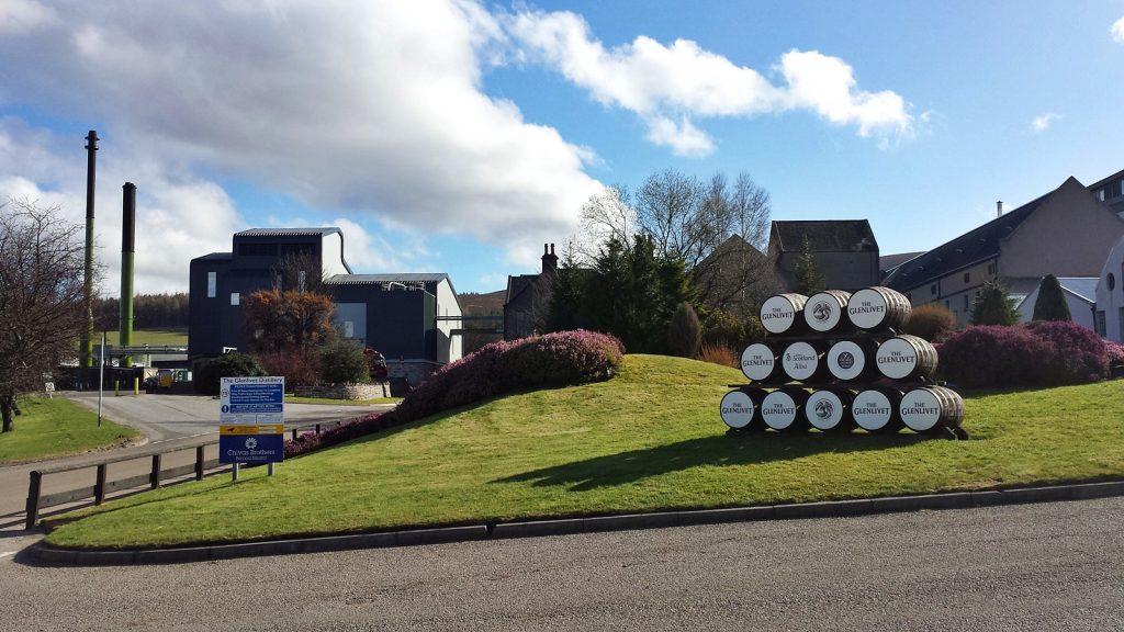 The Glenlivet Destillerie
