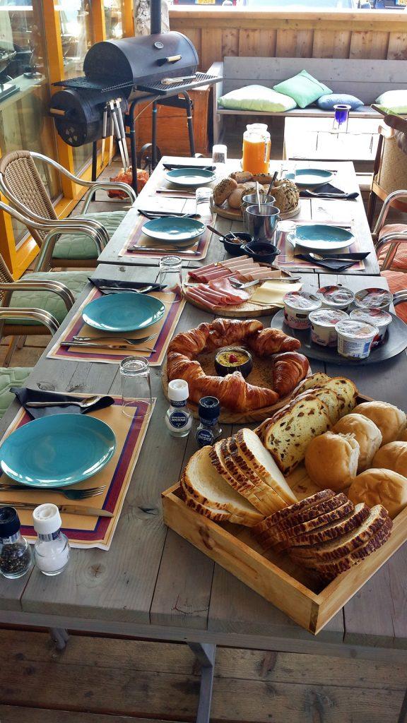 Frühstücksbuffet nur für uns ♥