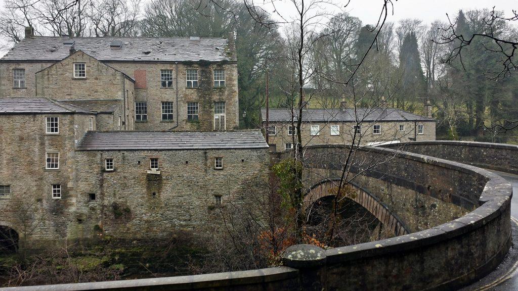 Alte Mühle und Brücke über die Aysgarth Falls