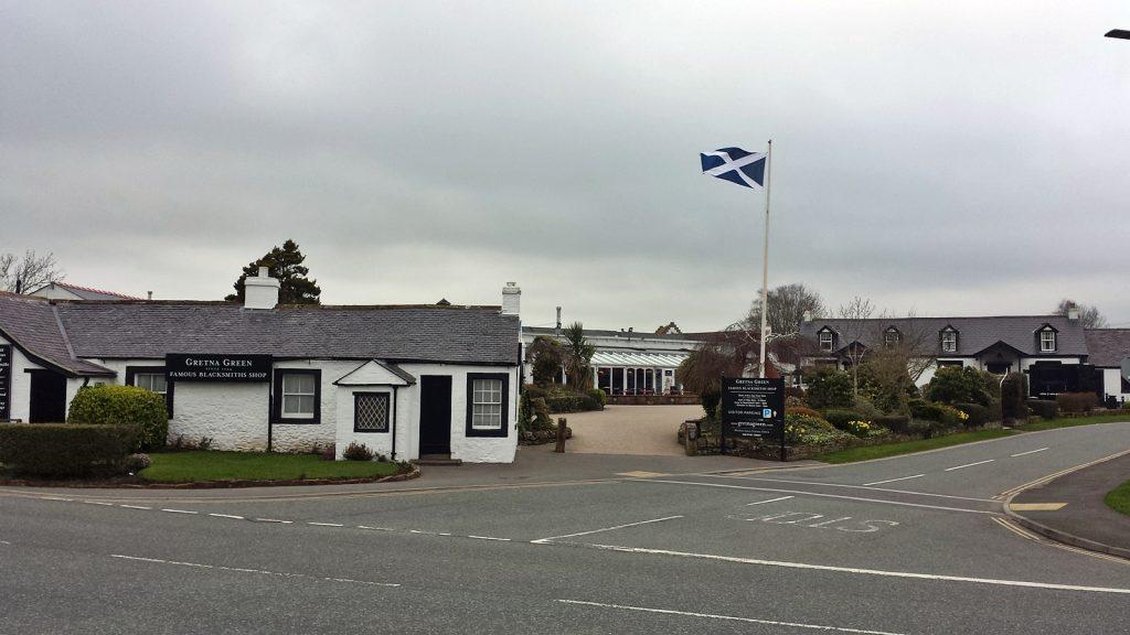 Der zentrale Platz für Hochzeiten, Gretna Green