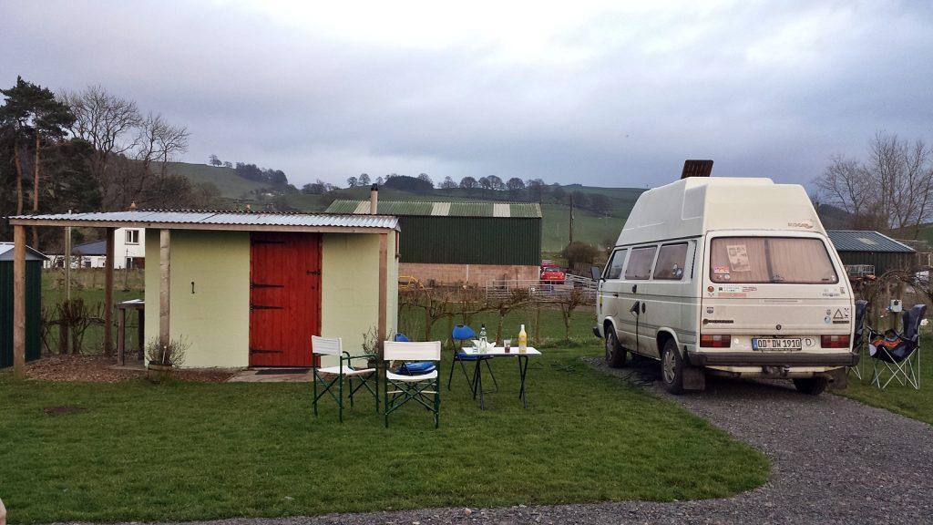 Campingplatz Oakbank Farm