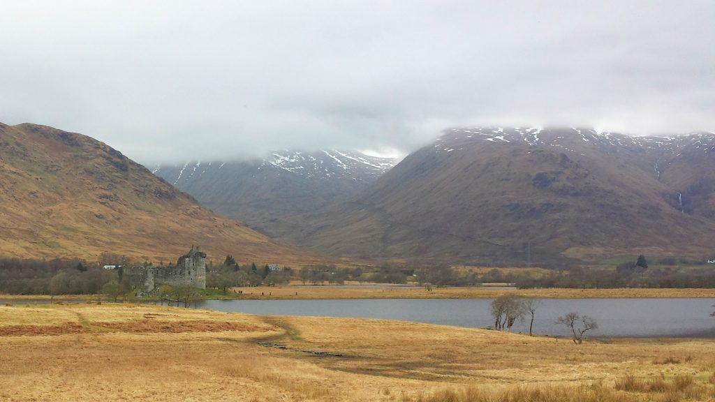 Kilchurn Castle mit Loch Awe