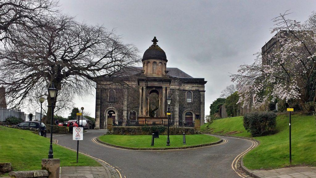 Die Jugendherberge von Stirling befindet sich in einer ehemaligen Kirche.