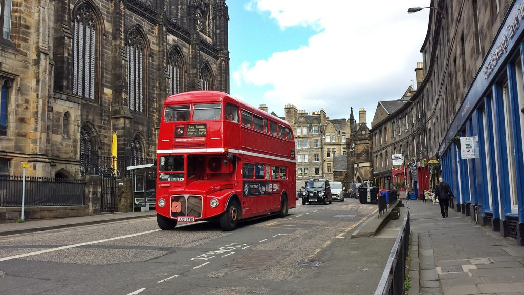 Edinburgh, nicht London