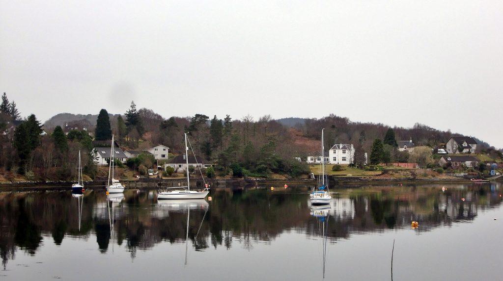 Loch Etive bei Connel