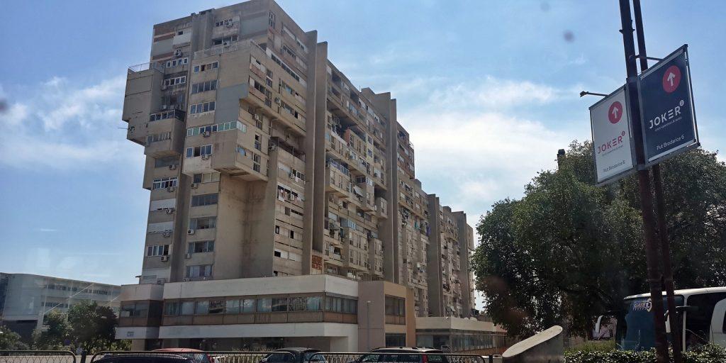 Brutalismus auf der Haupteinfallstraße nach Split