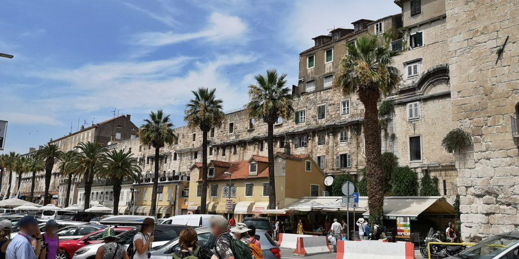 Riva mit Diokletianpalast