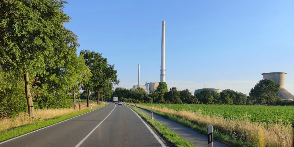 """Gas- und Dampfkraftwerk """"Robert Frank"""", Landesbergen"""