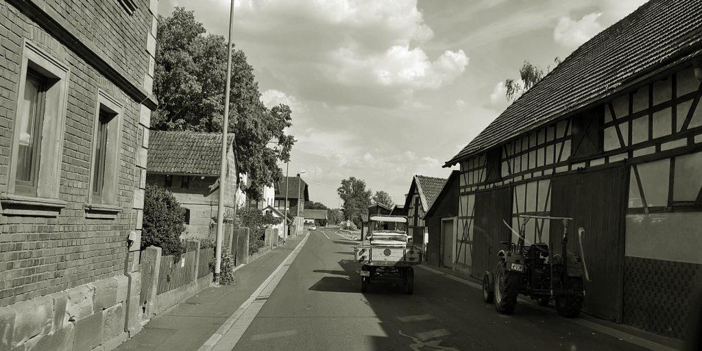 Unterwegs zwischen Kassel und Franken