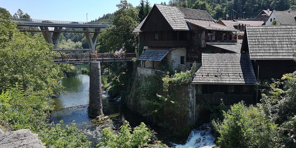 Wasserfälle von Rastoke