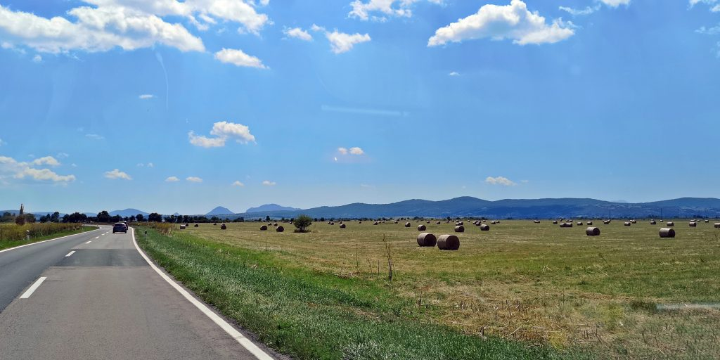 Kroatiens Hinderland