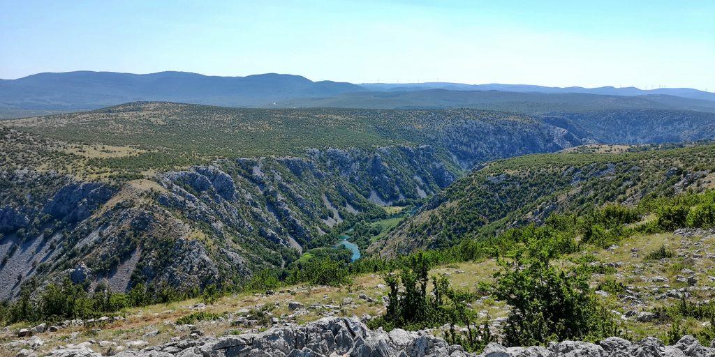 Der Canyon der Krupa