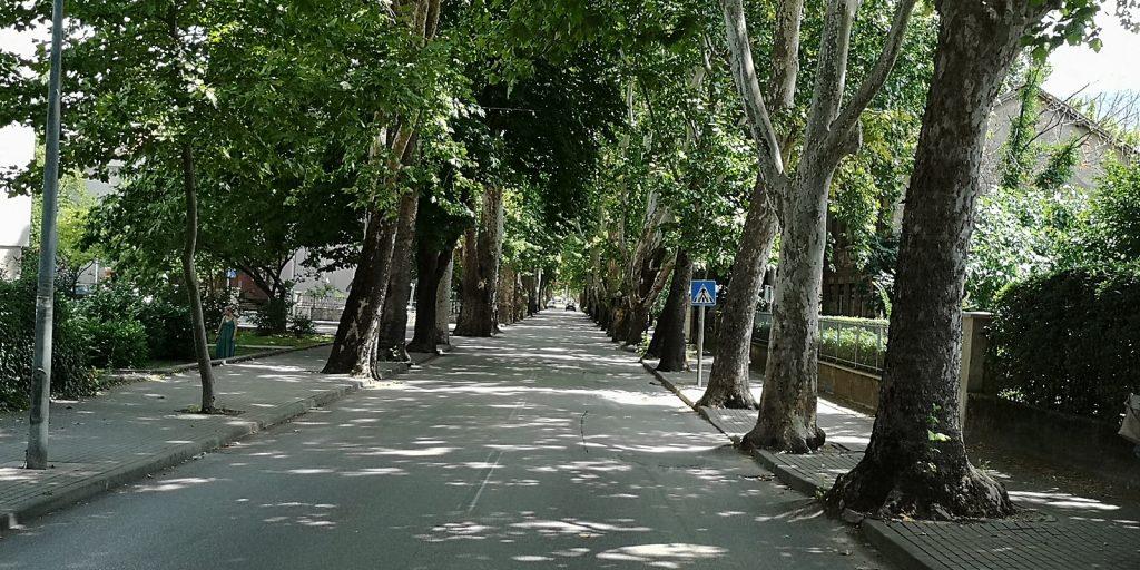 Straße in Mostar