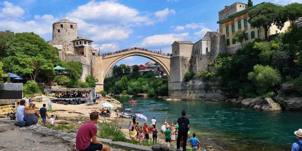 Stari Most, die alte Brücke von Mostar