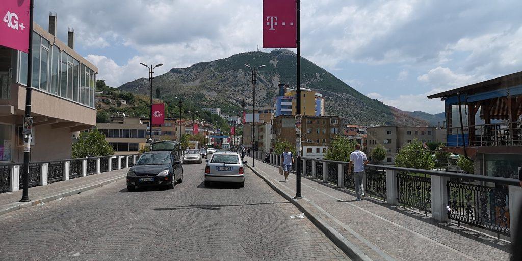 Brücke über den Drin, Lezhë