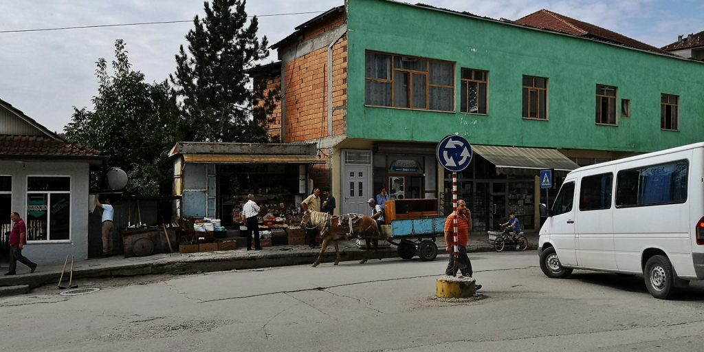 Kreisverkehr, Peshkopia